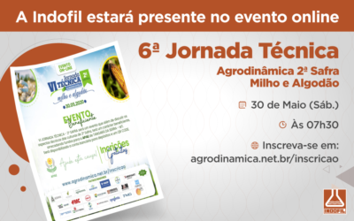6° Jornada Técnica Agrodinâmica –2° Safra – Milho e Algodão